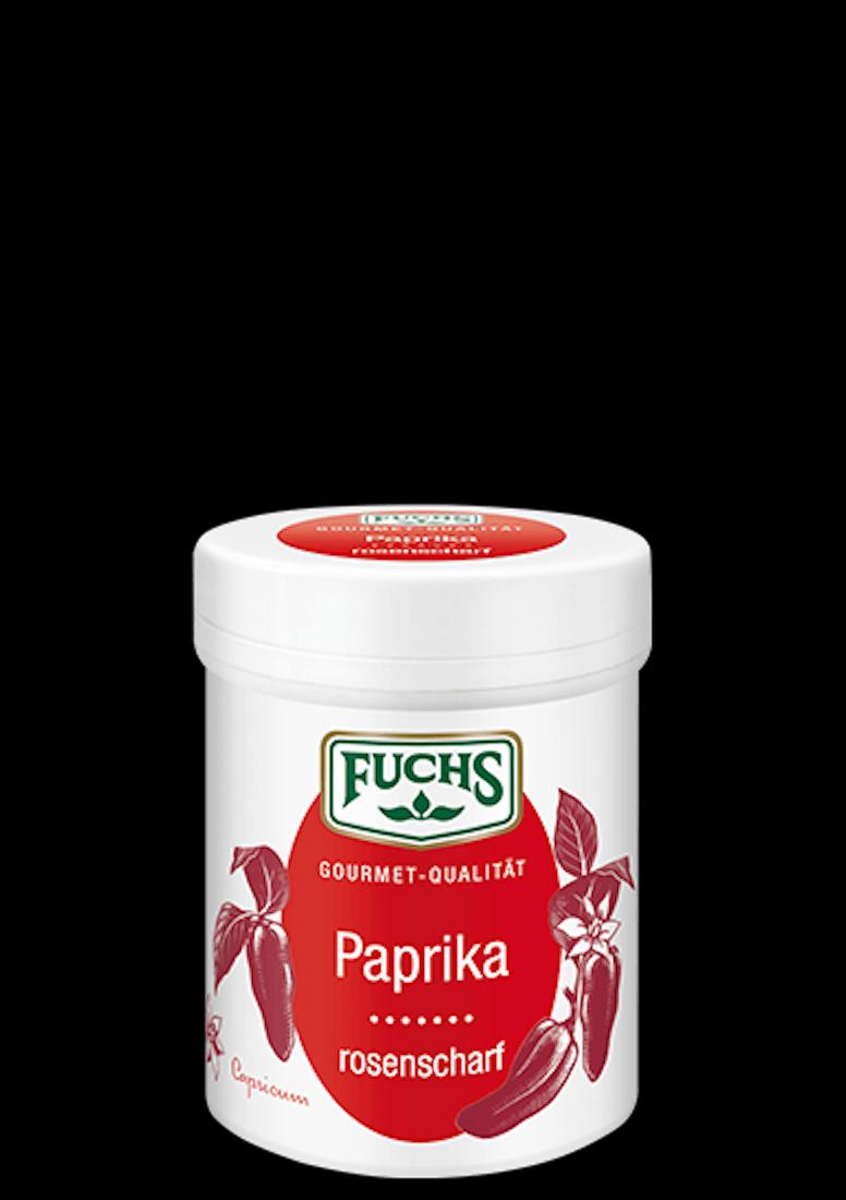 Rosen-Paprika scharf