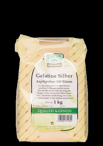Gelatine 160 Bloom Silber