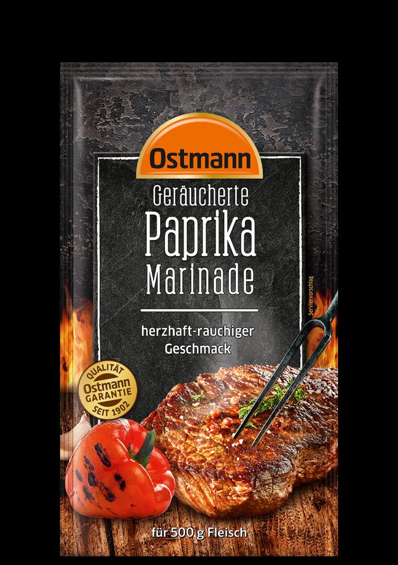 Geräucherte Paprika Marinade