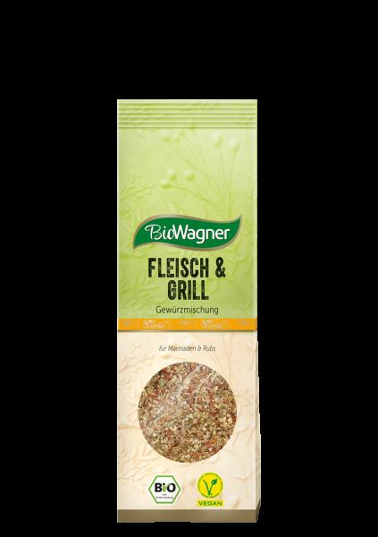 Bio Fleisch & Grill Gewürzzubereitung