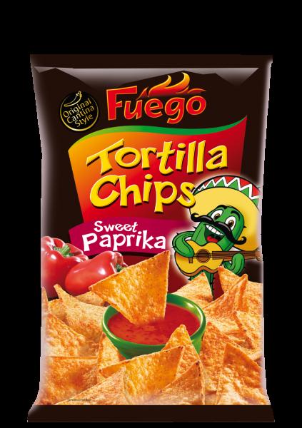 Tortilla Chips Sweet Paprika